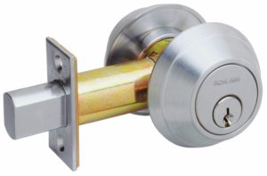 Portland locksmith Schlage deadbolt