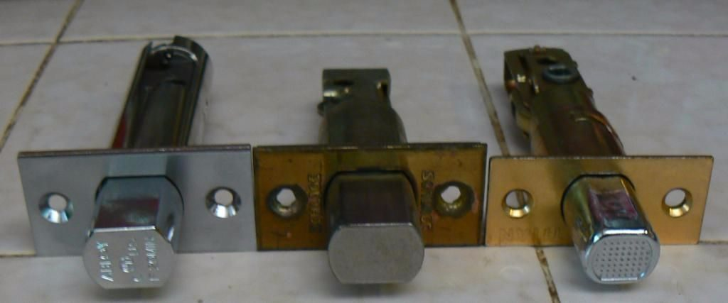 Locksmith Portland deadbolt and strike plate