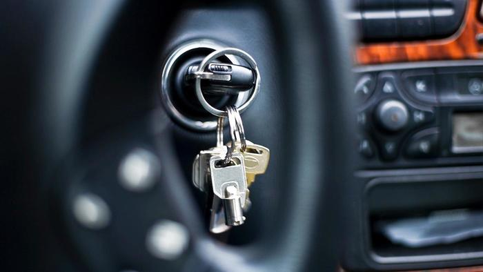 Locksmith Portland key in ignition