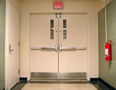 Locksmith Portland exit device