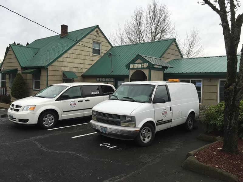 Advantage Locksmith Portland vehicles